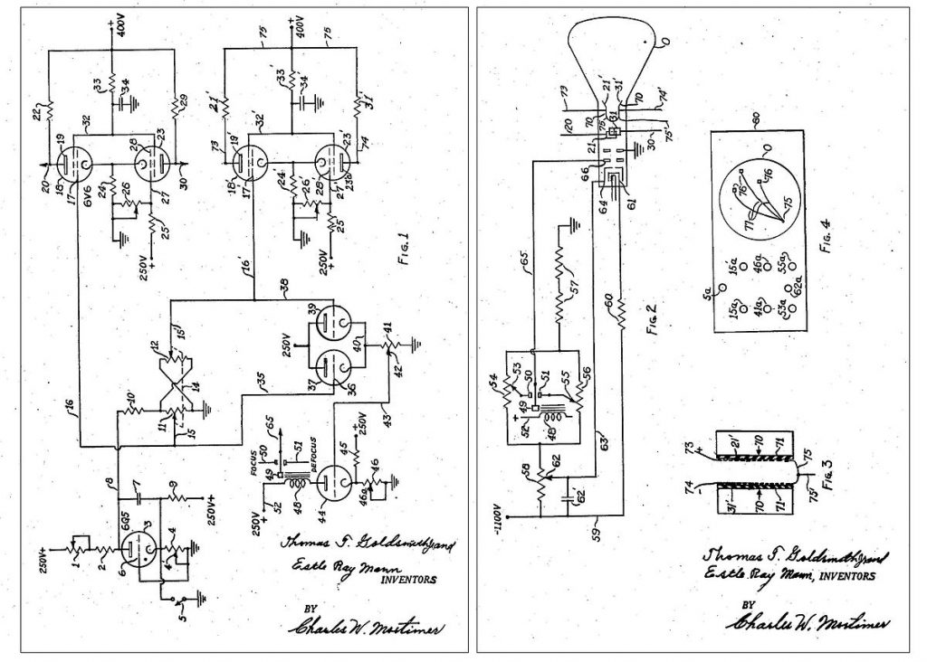 First Video Game Patent