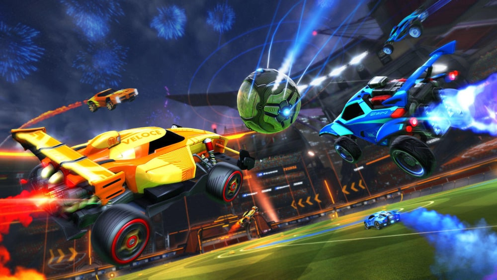 Rocket League Exciting